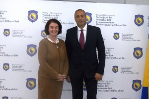 CHIEF PROSECUTOR MEETS ACTING DIRECTOR OF FBIH POLICE DEPARTMENT