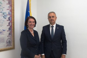 CHIEF PROSECUTOR MEETS DIRECTOR OF STATE INVESTIGATION AND PROTECTION AGENCY- SIPA