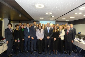 CHIEF PROSECUTORS FROM BOSNIA AND HERZEGOVINA, MONTENEGRO, CROATIA AND SERBIA AND THE CHIEF PROSECUTOR OF THE INTERNATIONAL RESIDUAL MECHANISM FOR CRIMINAL TRIBUNALS MET IN SARAJEVO TO DISCUSS REGIONAL COOPERATION IN FIGHT AGAINST IMPUNITY FOR WAR CRIMES
